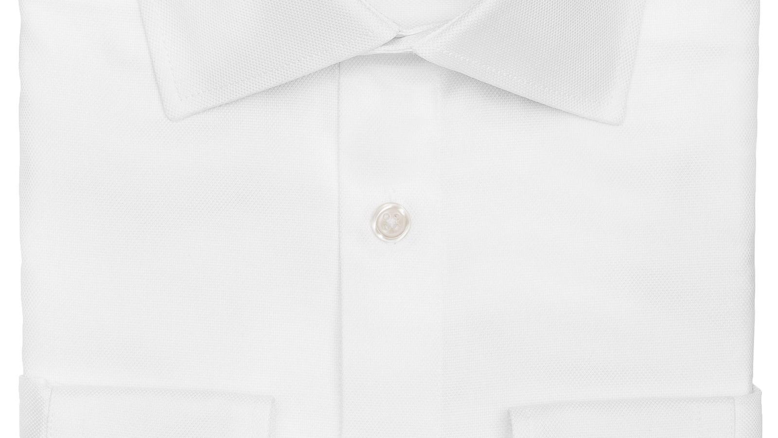 White Cotton Royal Oxford Shirt - slider image