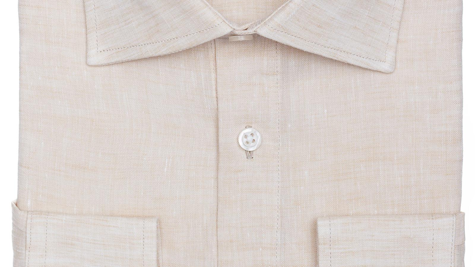 Natural Linen Shirt - slider image