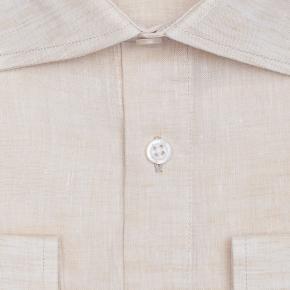Natural Linen Shirt - thumbnail image 1