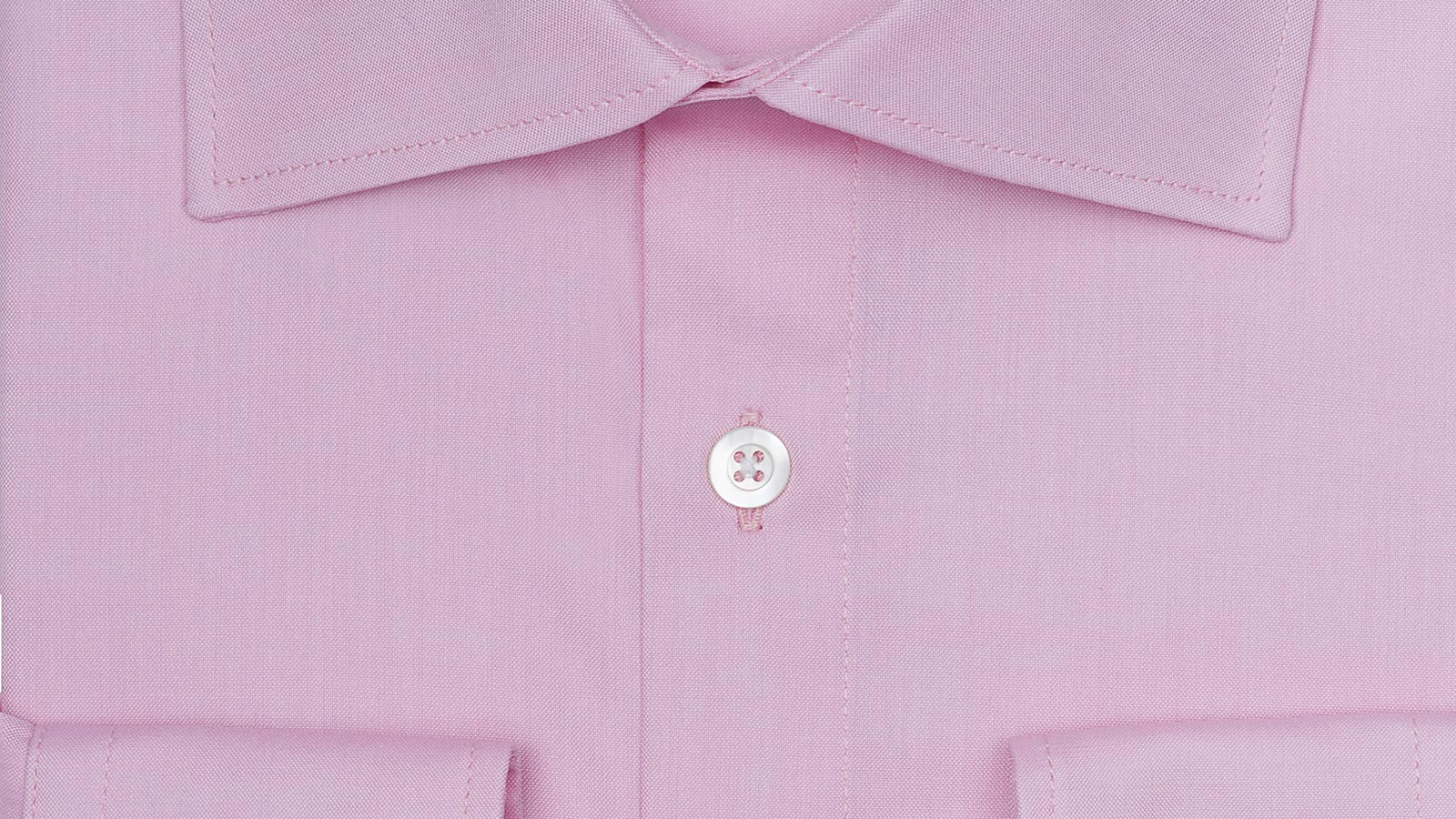 Pastel Pink Two-Ply Pinpoint Oxford Shirt - slider image