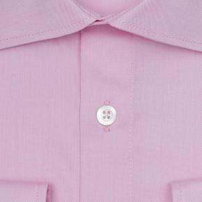 Pastel Pink Two-Ply Pinpoint Oxford Shirt - thumbnail image 1