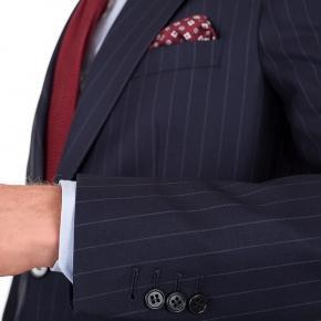 Navy Chalkstripe Suit - thumbnail image 1