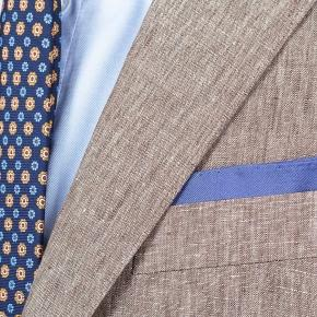 Suit in Khaki Linen - thumbnail image 3