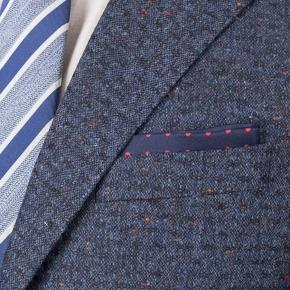 Suit in Blue Donegal Shadow Tweed - thumbnail image 2