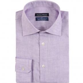 Lavender Linen Shirt - thumbnail image 1