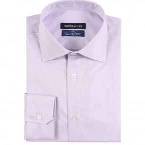 Lavender Cotton Twill Shirt - thumbnail image 1