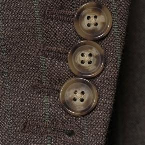 Traditionally Worsted Green Stripe Brown Suit - thumbnail image 2