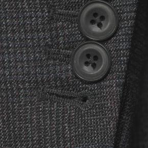 Charcoal Plaid with Red Overcheck Mouline Suit - thumbnail image 2