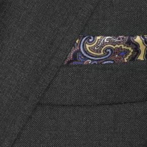 Traditionally Worsted Charcoal Melange Suit - thumbnail image 1