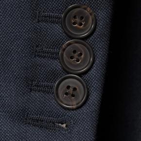 Traditionally Worsted Navy Melange Suit - thumbnail image 2