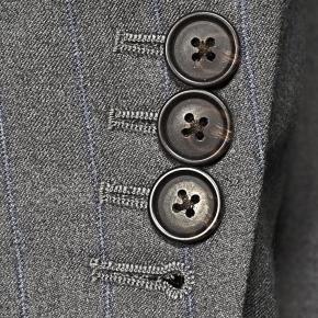 Sartorial Blue Stripe Grey 160s Suit - thumbnail image 2