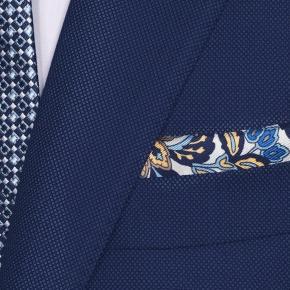Sartorial Royal Blue Birdseye 160s Suit - thumbnail image 1