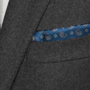 Sartorial Dark Grey Flannel 180s Suit - thumbnail image 1