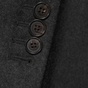 Sartorial Dark Grey Flannel 180s Suit - thumbnail image 2
