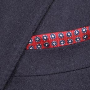 Sartorial Midnight Navy Flannel 180s Suit - thumbnail image 1