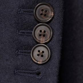 Sartorial Midnight Navy Flannel 180s Suit - thumbnail image 2