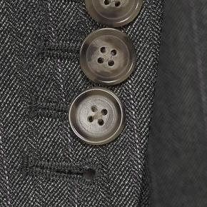 Lavender Stripe Grey Mouline Suit - thumbnail image 2