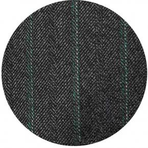 Green Stripe Charcoal Mouline Pants - thumbnail image 1