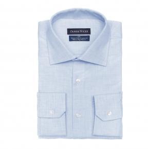 Light Blue Flannel Shirt - thumbnail image 1