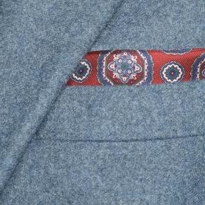 Steel Blue Flannel Suit - thumbnail image 1