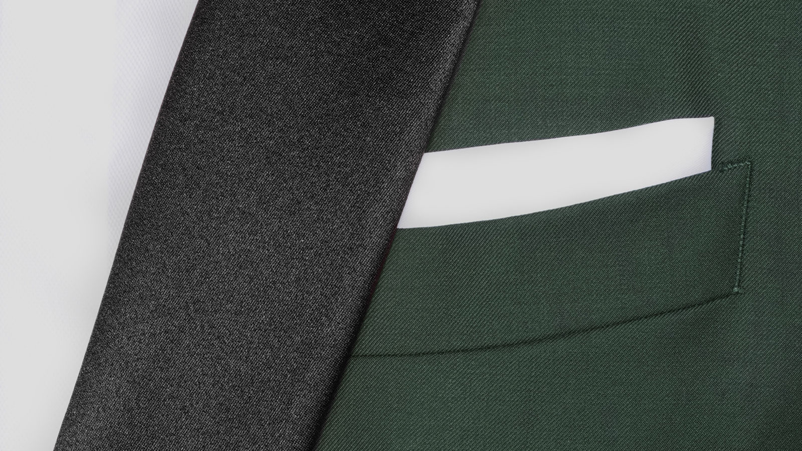 Vendetta Premium Solid Dark Green Tuxedo - slider image 1