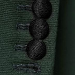 Vendetta Premium Solid Dark Green Tuxedo - thumbnail image 2
