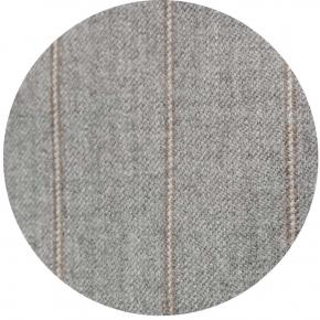 Sartorial Mustard Stripe Light Grey 160s Pants - thumbnail image 1