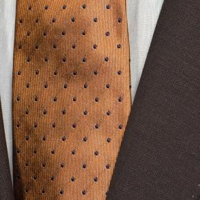 Solid Chocolate Brown Wool & Mohair Suit - thumbnail image 1