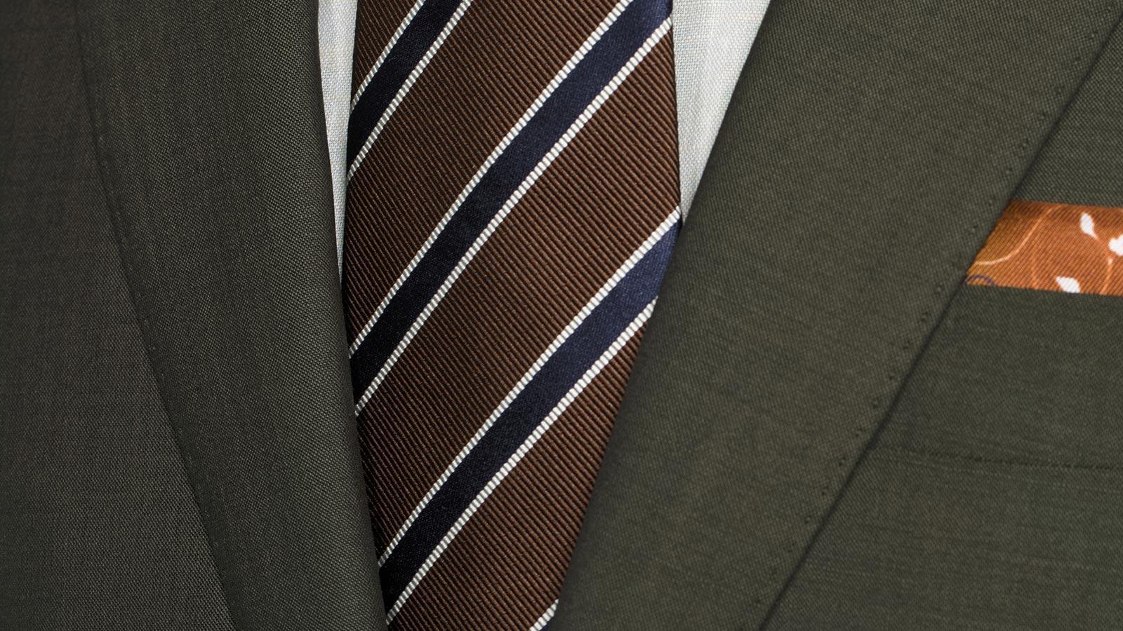 Solid Dark Green Bi-Stretch Suit - slider image 1