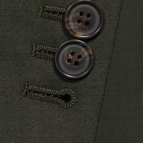 Solid Dark Green Bi-Stretch Suit - thumbnail image 2