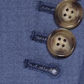 Solid Sky Blue Bi-Stretch Suit - thumbnail image 2