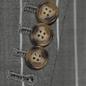 Light Grey Wide Stripe Suit - thumbnail image 2