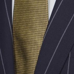 Deep Blue Wide Stripe Suit - thumbnail image 1