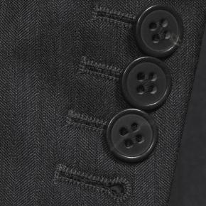 Charcoal Wool & Silk Suit - thumbnail image 2