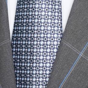 Blue Check Charcoal Suit - thumbnail image 1