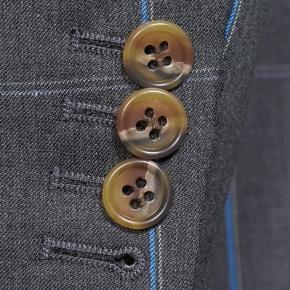 Blue Check Charcoal Suit - thumbnail image 2