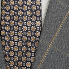 Tangerine Check Dark Grey Suit - thumbnail image 1