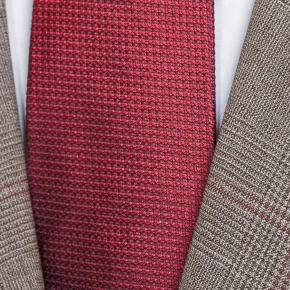 Tropical Rustic Light Brown Plaid with Red Overcheck Suit - thumbnail image 1