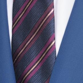 Sartorial Intense Blue Herringbone 160s Suit - thumbnail image 1