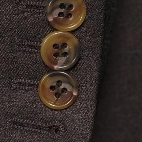 Worsted Chine Dark Brown Suit - thumbnail image 2