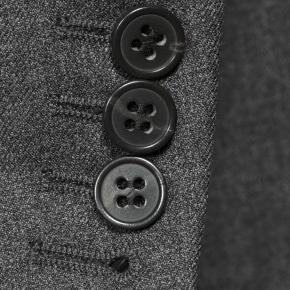 Worsted Chine Dark Grey Suit - thumbnail image 2