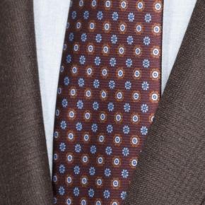 Chocolate Brown Plaid Suit - thumbnail image 1