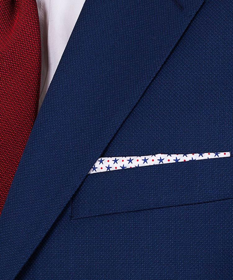 textured suit fabric