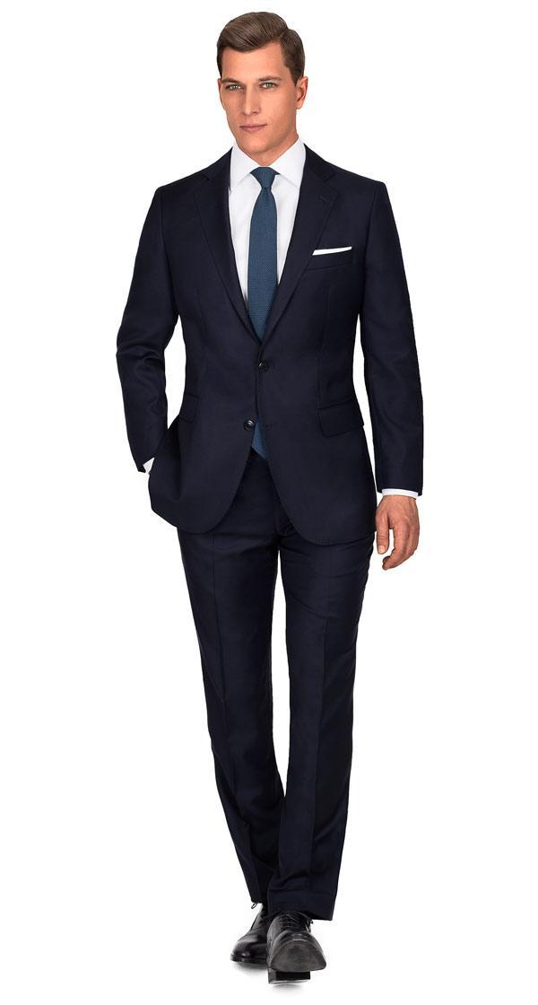 Premium Dark Navy Blue Suit