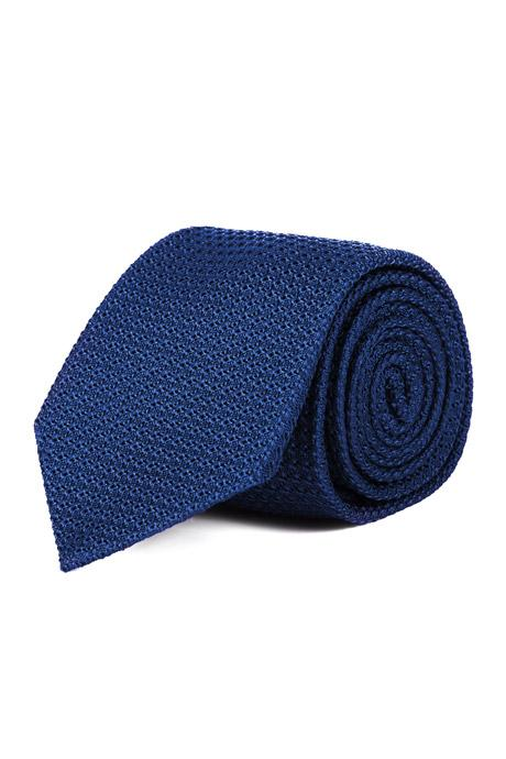 Royal Blue 100% Grenadine Silk Tie