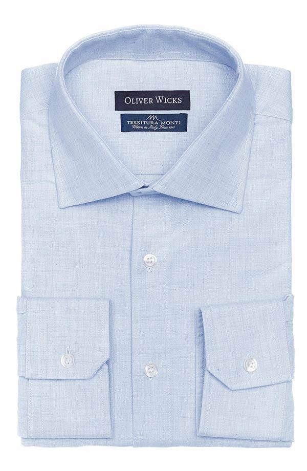Light Blue Flannel Shirt