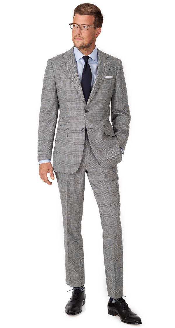 Grey Glen Plaid Suit