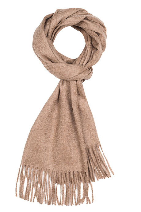 Light Brown Cashmere Scarf