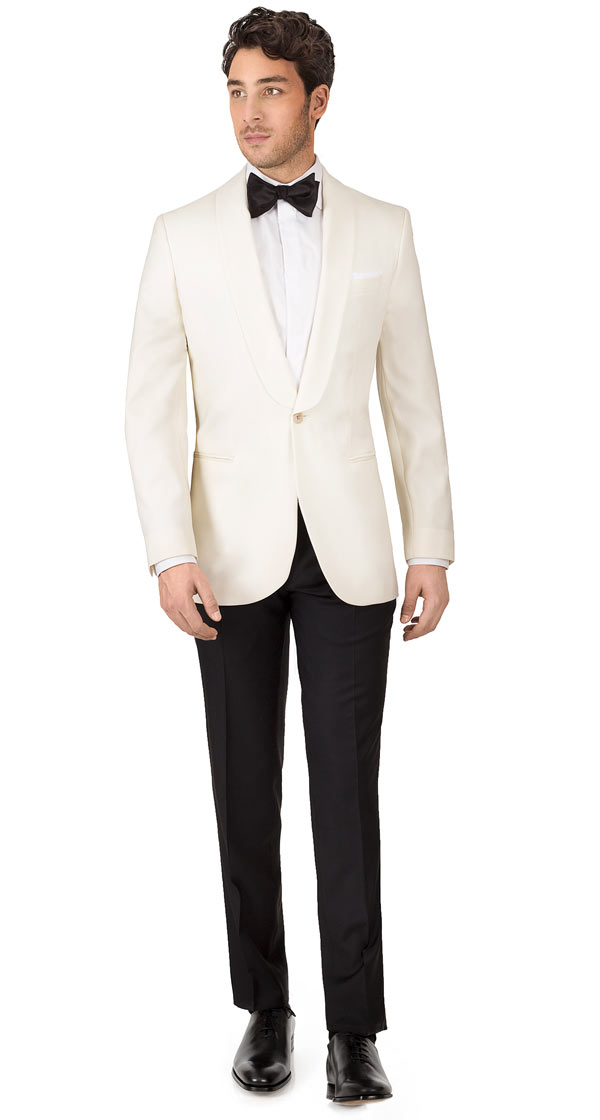 Ivory Dinner Suit