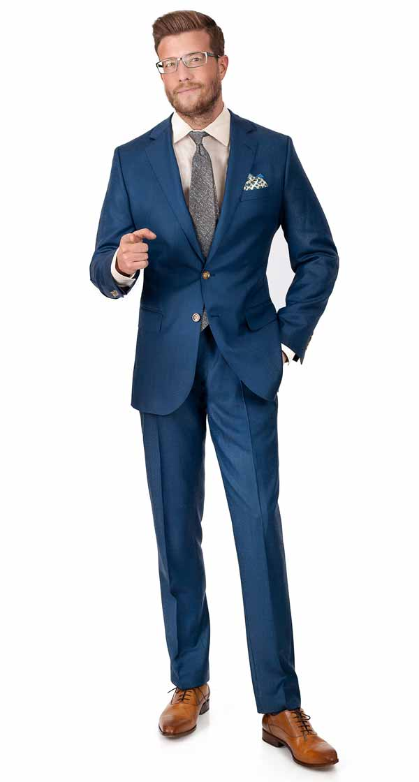 a178e40ff Custom suits, made-to-measure for you from fine Italian wool ...